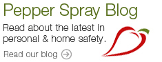 Pepper Spray Blog. Click to Read our Blog.